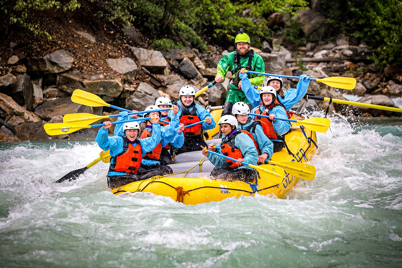 White Water Rafting Canadian Rockies in Golden, BC
