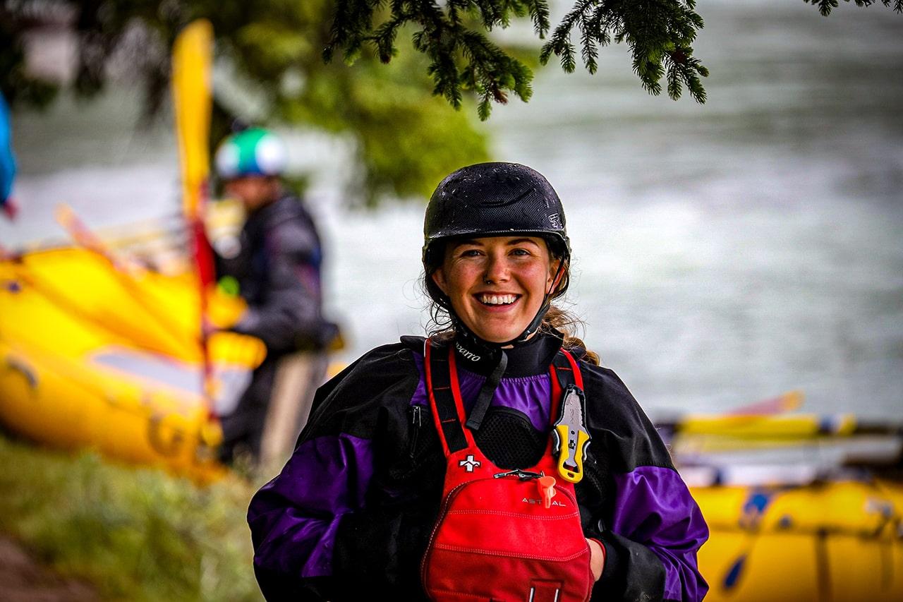 Staff at Glacier Raft Company in Golden BC Zoe Schutz