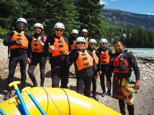 Kicking Horse White Water Rafting Golden BC