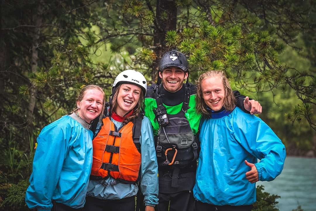 Most experienced staff on Kicking Horse River Glacier Raft Company