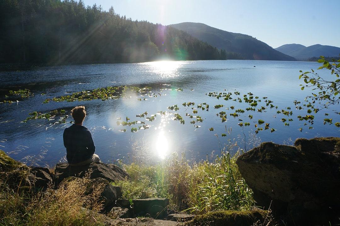 Relaxing in British Columbia