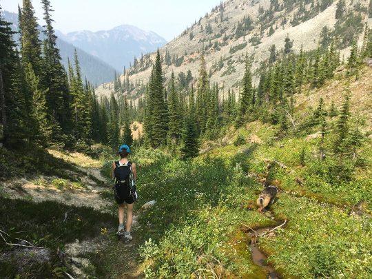12 mile hike golden bc