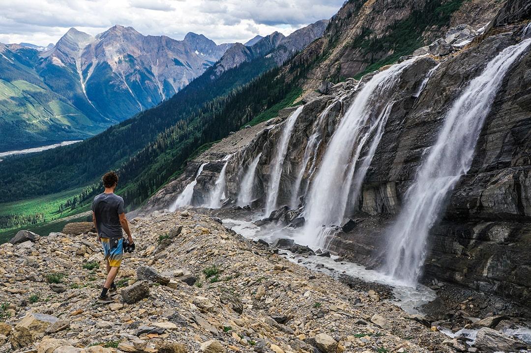 Hiking Mummery Glacier Golden BC