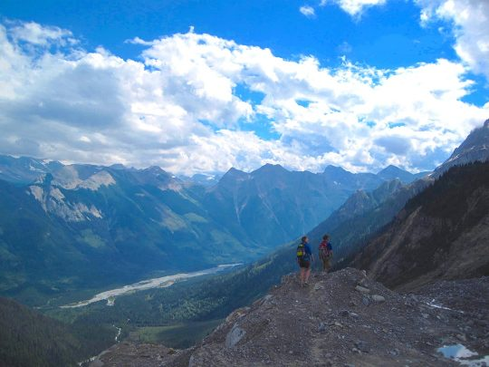 Mummery Glacier Hike Golden British Columbia
