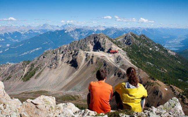 Views from Kicking Horse Mountain Resort