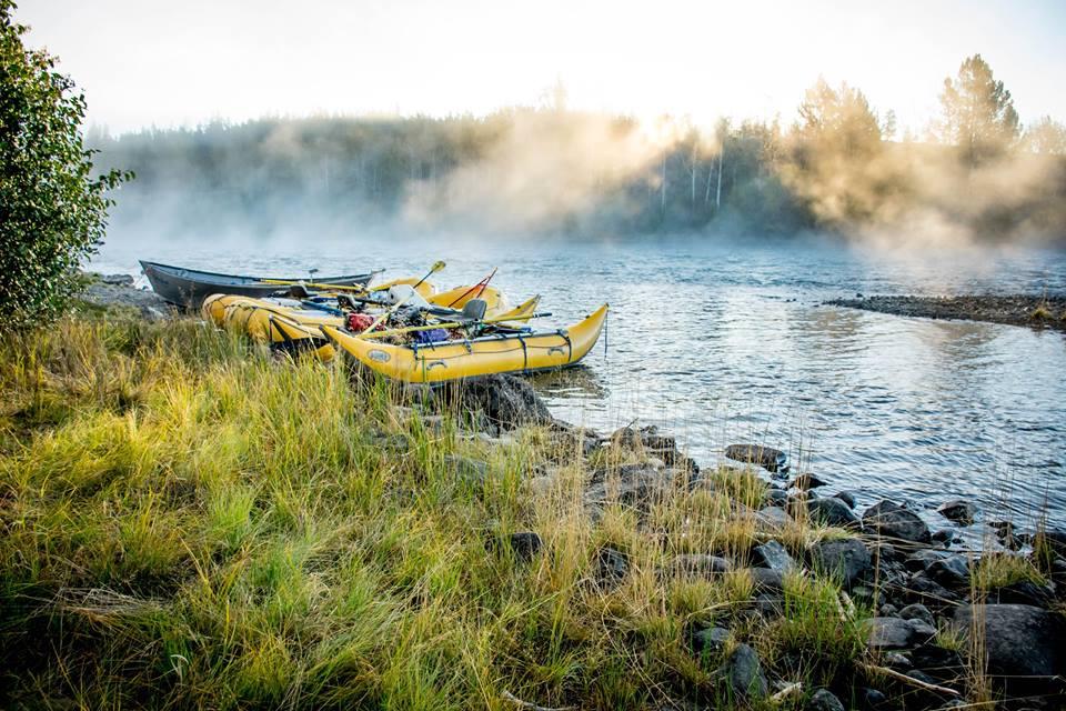 River rafting Golden, BC