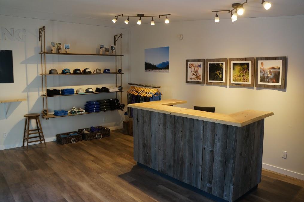 Office at Glacier Raft Company Golden BC