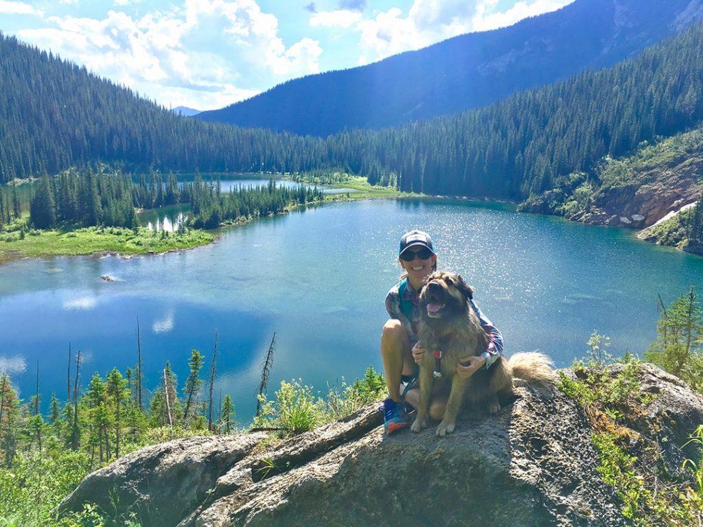 Dainard Lake Hike with dog, Golden BC