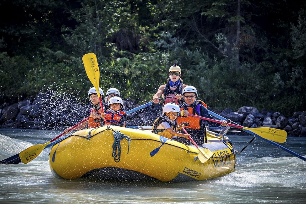 Family Rafting Tour on the Kicking Horse River