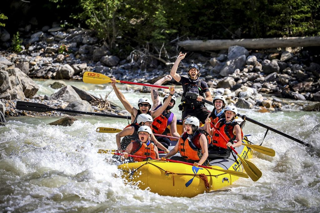 Whitewater Rafting and Zipline Tours in Golden, BC