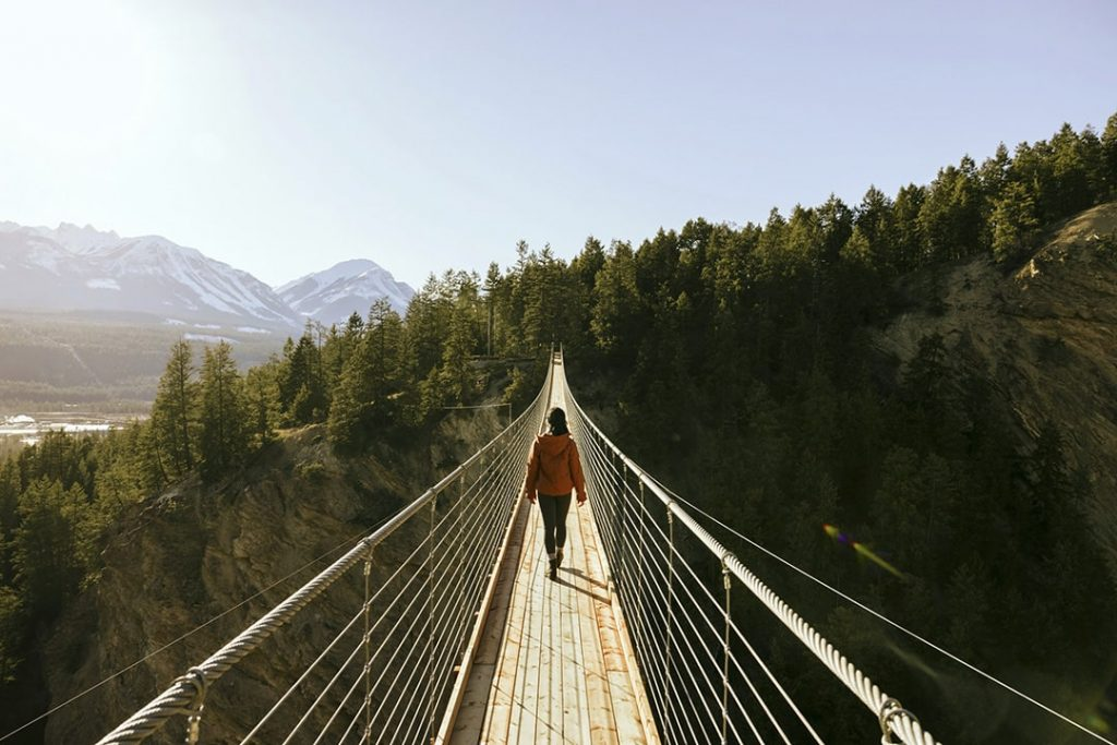 Whitewater Rafting and Zipline Tours offered in Golden BC by Glacier Raft Company and Golden Skybridge